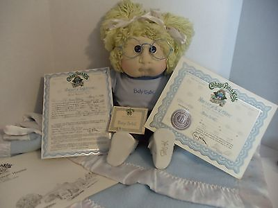 Cabbage Patch Soft Sculpture Nursery Edition Baby SYBIL