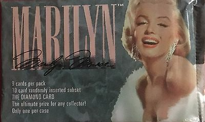 1993 Sports Time Marilyn Monroe Trading Card Series 1 Brand New Sealed Pack