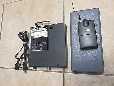 shure PSM 700 IEM in ear monitor. P7T-L2 632-662MHz