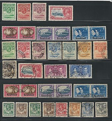 Basutoland: Lot stamps different mint & used, cat +100 $ good condition. BAS03