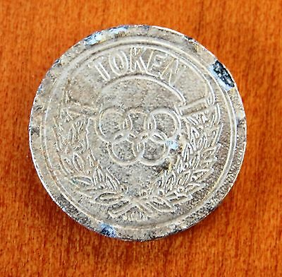 Collectable Token  Jeton  Gettone  Medal  Exonumia -Olympic - Unknown - #to-027