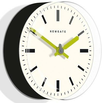 RETRO VINTAGE 1960s Newgate Black Funky Colour Modern Chic Kitchen 3D Wall Clock