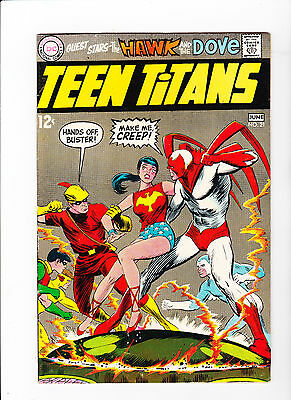 Teen Titans  #21 (1966) - Neal Adams Art - Hawk and the Dove appearance