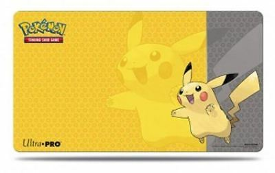 "Ultra Pro Play Mat: Pokemon - Pikachu Game Protective Mat 23 7/8"" x 13 1/2"" New"