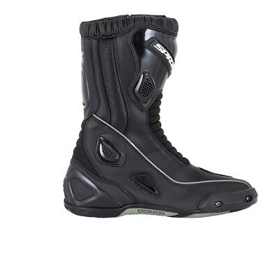 Spada Druid Adventure Touring Waterproof MP Motorcycle Motorbike Boots - Black