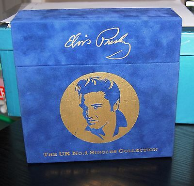 "ELVIS PRESLEY.  ""THE UK No1 SINGLES COLLECTION""  (X17 7"" RECORDS) RCA UK 2000 NM"
