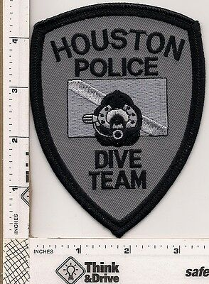 Houston Police. Dive Team subdued grey.Texas.