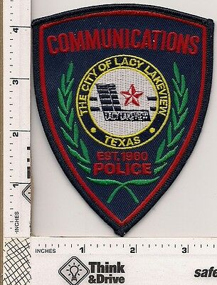 Lacey Lakeview Police. Communications. Texas.