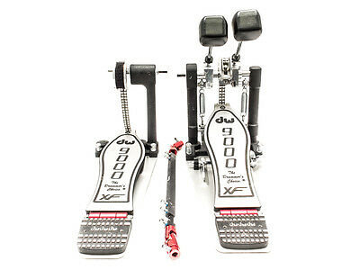 DW 9000XF Double Pedal & Case