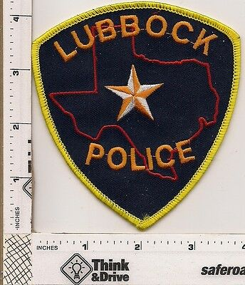 Lubbock Police.Orange Thread.Texas.
