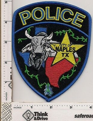 Naples City Police. Texas.