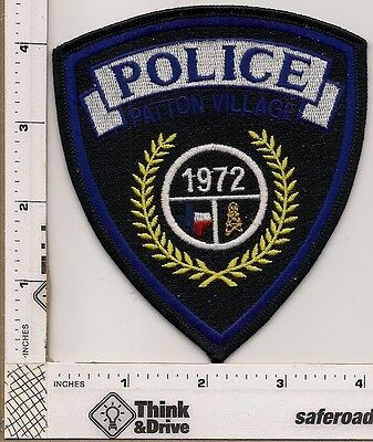 Patton Village Police.Texas.