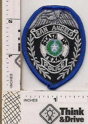 San Angelo Police.hat patch. Texas.