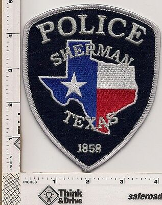 Sherman Police.Texas.