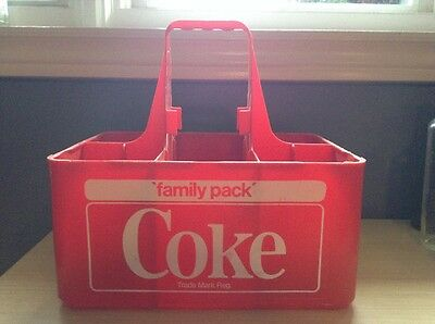 """Family Pack"" 6 bottle COCA- COLA Carrier"