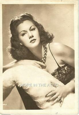 Maria Montez Original Vintage Hollywood Fan Photo