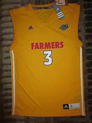 Candace Parker #3 Los Angeles Sparks WNBA adidas Jersey SM S NEW Rookie