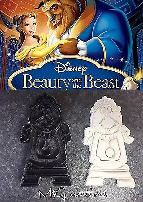 Cogsworth Clock Beauty And The Beast Cookie Cutter Fondant Cake Decor Cupcake