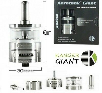 Kanger Kangertech Atomizer Verdampfer Aerotank Giant 4,5ml BEST PRICE 100% AUTH