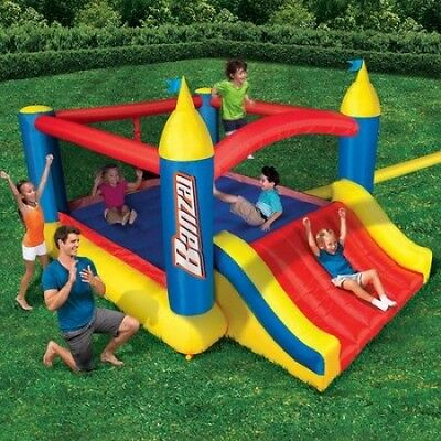 Kids Fort Bouncer Inflatable Jump Castle Backyard Party Fun Activity Exercise