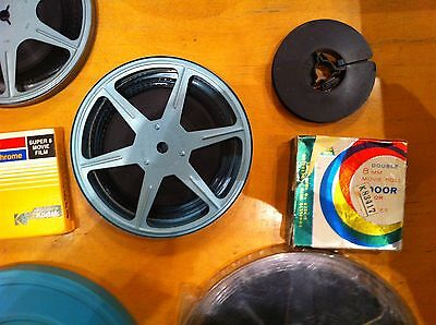 30 X3 Inch 50Ft 8Mm Super 8 Film To Dvd Ship Back4Free