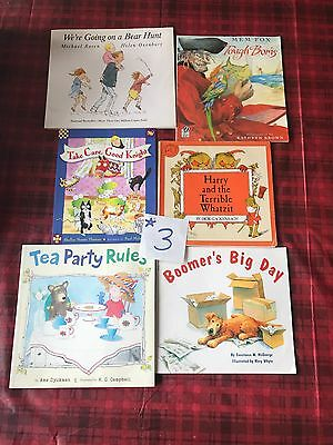 Children's Early Reader Book Lot 6 Books ��