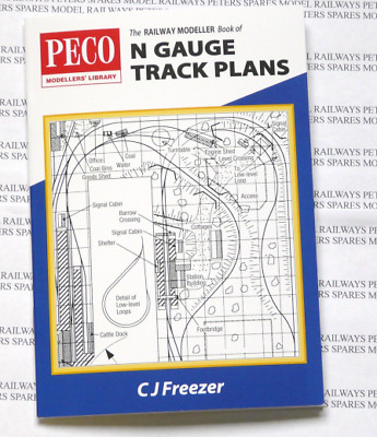 Peco PB-4 The Railway Modeller Book of N Gauge Track Plans