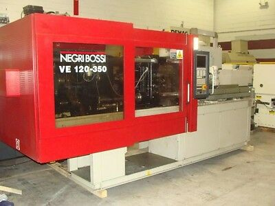 132 Ton Negri Bossi all Electric Injection Molding Machine, 2010, Ref. 18859C