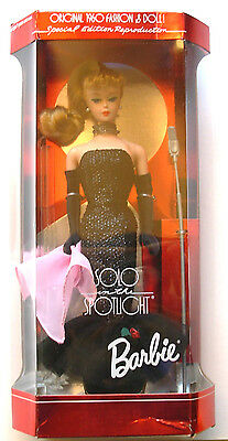 Solo in the Spotlight Blonde Barbie Doll 1994 Special Edition Reproduction New!