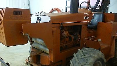 Ditch Witch 5110 Trencher  - 6 Way Dozer Blade Great Condition