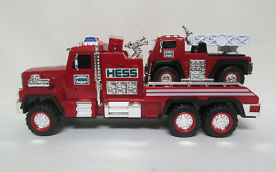 Hess Fire Truck and Ladder Rescue 2015 Collectible Toy Lights Sound