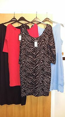 Bargain -4  Brand New / Hardly Worn Dresses. Size 18 /16 .d.perkins/ New Look.