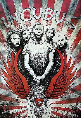 """INCUBUS THE POSTER 24""""x36"""" MUSIC BAND ROCK POP CONCERT NEW SIDE WALL SHEET PM248"""