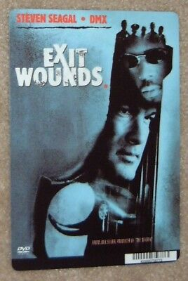EXIT WOUNDS promo art card STEVEN SEAGAL, this is NOT a movie