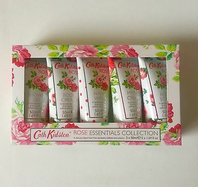 Cath Kidston Rose Essentials Hand and Body Collection Gift Set Original Box New