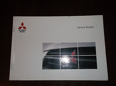 Mitsubishi Service Book Stamped + Space Star Owners Manual