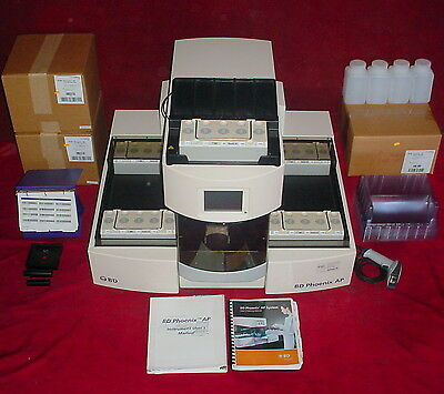 Becton Dickinson BD Phoenix AP Automatic Microbiology System Ver 4.1.4