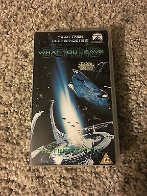 Star Trek Deep Space 9 (DS9) What You Leave Behind VHS