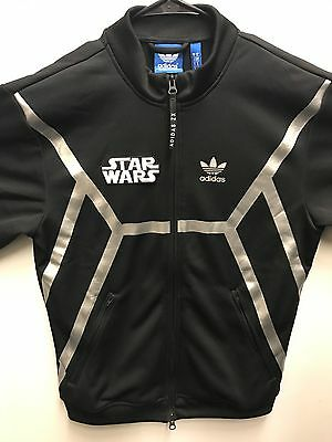 New Adidas Zx Star Wars Reflective Flight X-Wing Tie-Fighter Track Jacket Size M