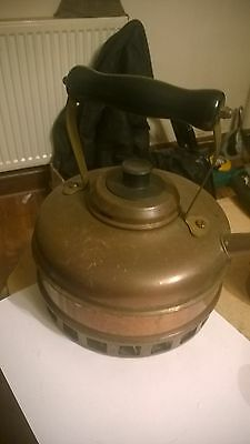 Vintage L & W Copper Plate Kettle. Stove Top 9 Inches High