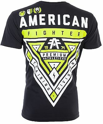 AMERICAN FIGHTER Mens T-Shirt CAMERON WEATHERED Athletic Biker Gym MMA UFC $40