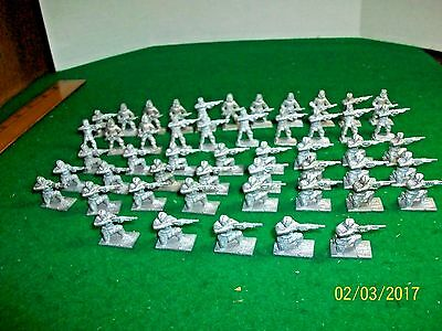 Iron Brigade Miniatures Model Soldiers Lot of 59 - 25 mm unpainted Lead Soldiers