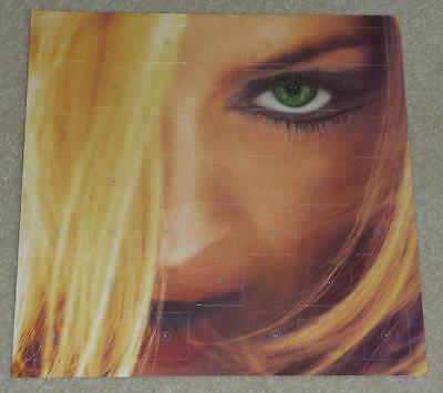 "MADONNA GHV2 Greatest Hits Volume 2 UK PROMO 12"" x 12"" ADVENT CALENDAR New, Mint"