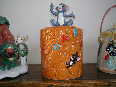 Tom and Jerry Cookie Jar - 1981 - MGM - RARE & MINT