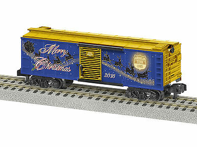 Lionel 6-47974 S American Flyer 2016 Christmas Boxcar