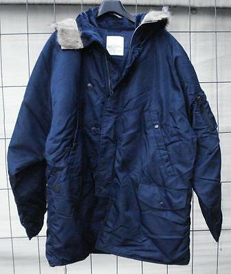 Fliegerparka N3B US Style blau Parka extreme cold weather