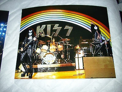 Kiss-Early Live  8X10 Color Photo's.amazing Shot