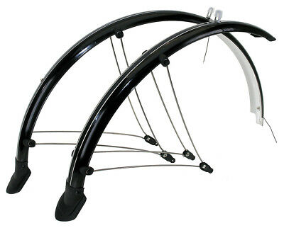 BICYCLE BIKE Mudguard Set 28inch Front&Rear Flexible 45MM
