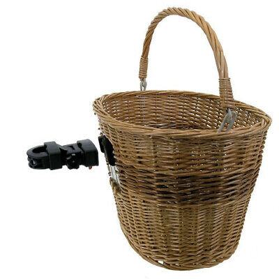BICYCLE BIKE M-Wave Basket Wicker Front