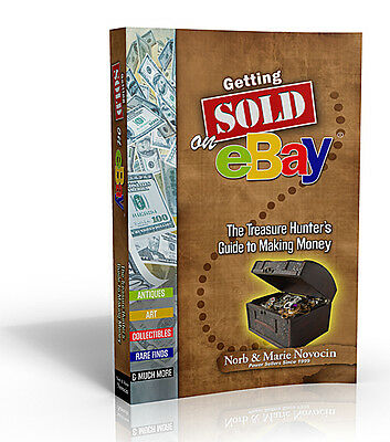 """Getting Sold on eBay"" Book by Norb & Marie Novocin Estateauctionsinc yqz"